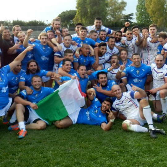 ITALIAN RUGBY LEAGUE FACE BARA REPEAT