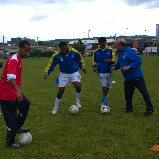 North Region: Football Project in Bradford targeting Refugee community