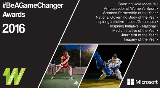 Womens Sport Trust #BeAGameChanger Awards