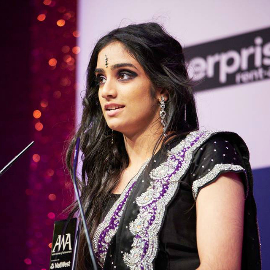 Harleen Kaur wins Asian Women of Achievement Award for Sport