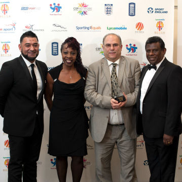 MOEEN ALI AND REBECCA DOWNIE AMONG THE WINNERS FOR THE FIRST LYCAMOBILE BEDSA