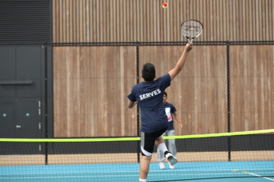 New York City impresses amateur tennis players from North London Mosque Community Centre