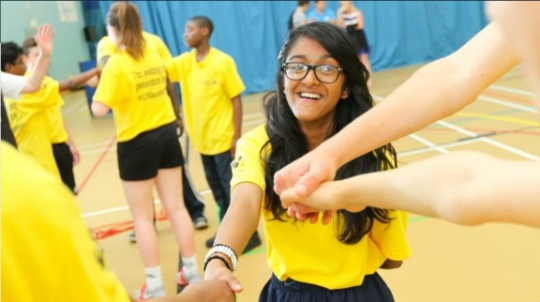 Launch of Future Sports Leaders Event