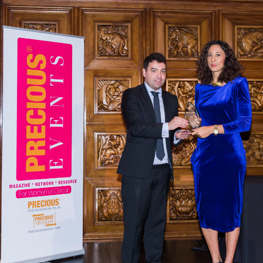 Michelle Moore Wins Prestigious PRECIOUS Award for Outstanding Woman in Sport